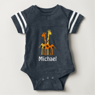 Personalized Giraffe Baby Gifts Tshirts
