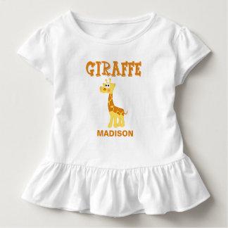 Personalized Giraffe T Shirt