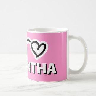 Personalized girls mug with customizable kids name