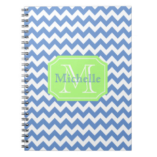 Personalized girly spiral note book