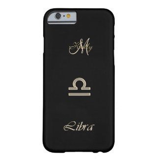 Personalized Gold Zodiac Sign Libra iPhone 6 Case