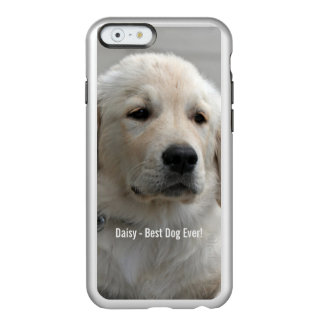 Personalized Golden Retriever Dog Photo and Name Incipio Feather® Shine iPhone 6 Case