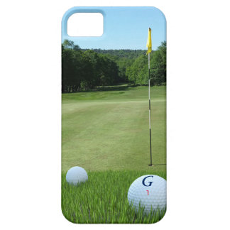 Personalized Golfer's Fairway iPhone 5SE Case