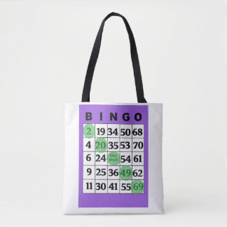 "Personalized ""Good Luck"" BINGO Bag"