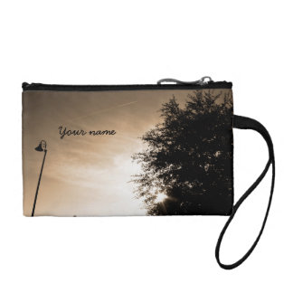 Personalized Good Morning - Sepia Coin Purse