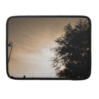 Personalized Good Morning - Sepia Sleeve For MacBooks