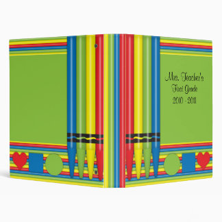 Personalized Grade School Teacher Binder