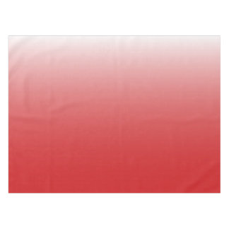 Personalized gradient ombre red tablecloth