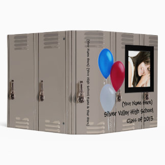 Personalized Graduation or High School Memory Book Binders