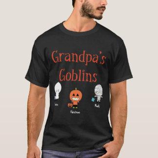 Personalized Grandpa's Goblins T-Shirt