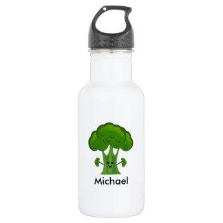 Personalized Green Broccoli 532 Ml Water Bottle