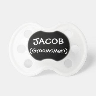 Personalized Groomsman Pacifier