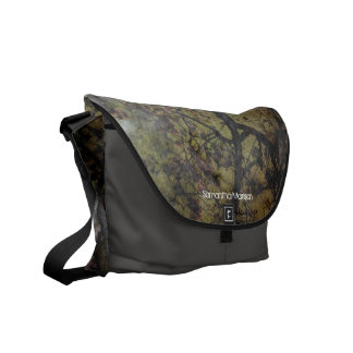 Personalized Grunge Tree Branches Tote/Book Messenger Bag
