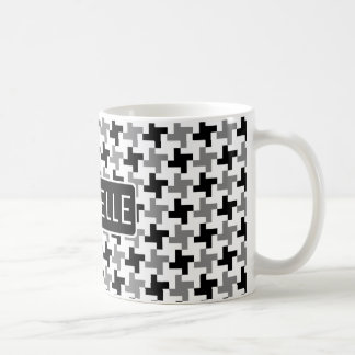 Personalized GS Houndstooth Coffee Mug