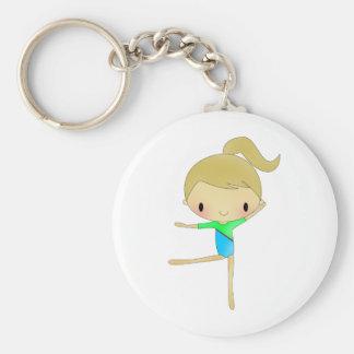 Personalized Gymnastics accessories Keychain