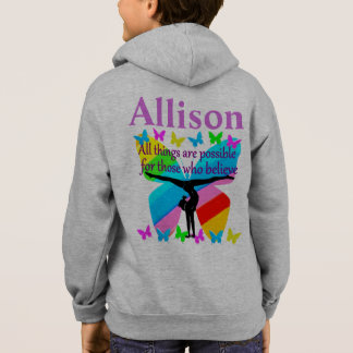 PERSONALIZED GYMNASTICS GOALS AND DREAMS HOODIE