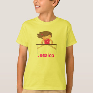Personalized Gymnastics Kids Shirts