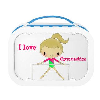 Personalized Gymnastics lunchbox