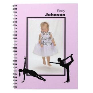 Personalized Gymnastics Notepad Notebook