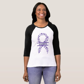 Personalized Gynecological Cancer Awareness Tee