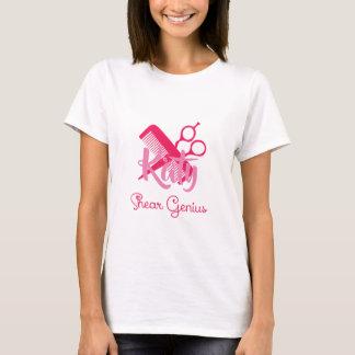 Personalized Hairstylist Shear Genius T-Shirt