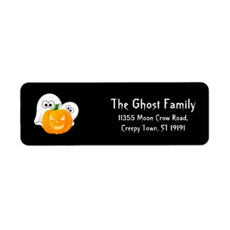Personalized Halloween Ghosts Pumpkin