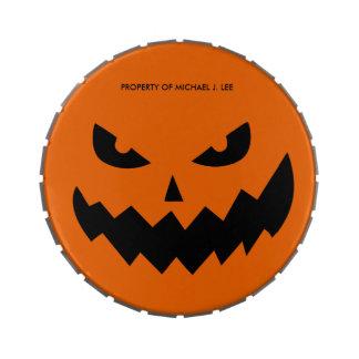 Personalized Halloween Jack-O-Lantern