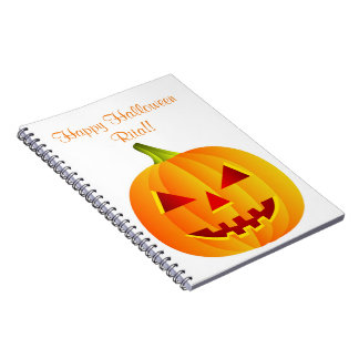 Personalized Halloween Notebook