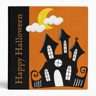 Personalized Halloween Recipe or Photo Binder