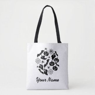 Personalized  Halloween Silhouettes  Bag