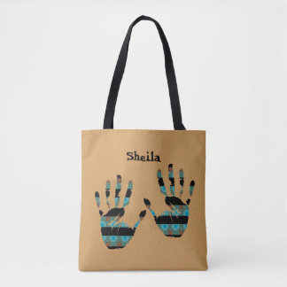 Personalized Hand Tote Bag