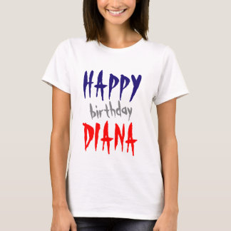 Personalized Happy Birthday Name Gift by VIMAGO T-Shirt