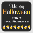 Personalized Happy Halloween Candy Favour Stickers
