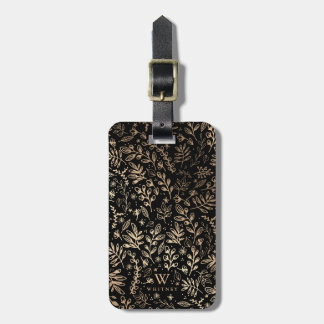 Personalized | Harvest Flowers Luggage Tag