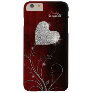 personalized heart girly love barely there iPhone 6 plus case