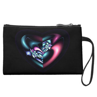 Personalized Heart Wristlet
