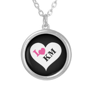 Personalized Hearts Initials Necklace