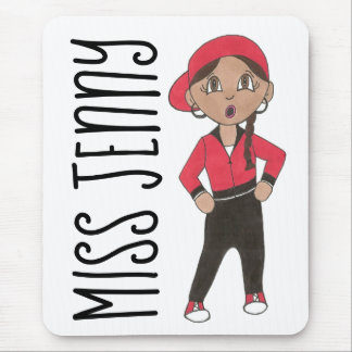Personalized Hip Hop Jazz Dance Teacher Hip-hop Mouse Pad