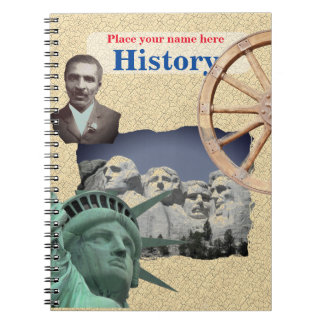 Personalized History NoteBook