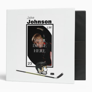 Personalized Hockey Binder