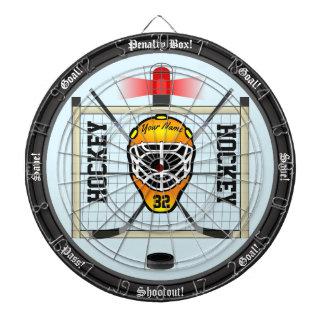 Personalized Hockey Dart Boards