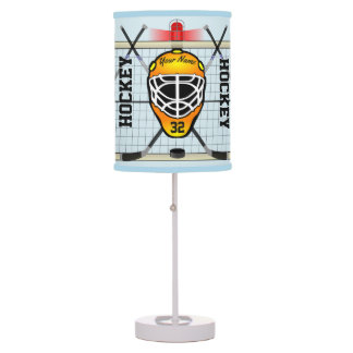 Personalized Hockey Desk Lamp