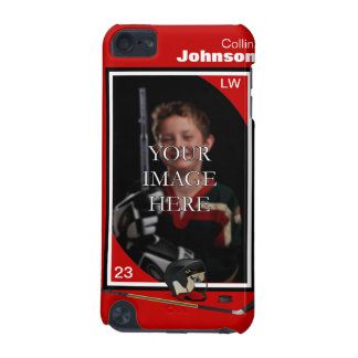 Personalized Hockey iPod Touch Case