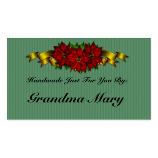 Personalized Holiday Gift Tags Business Card