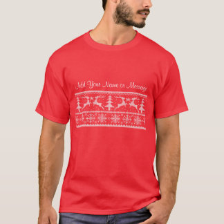Personalized Holiday T-Shirt