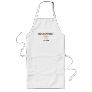 Personalized Hollywood Star Long Apron