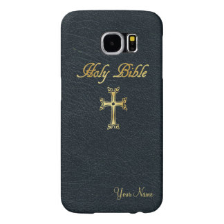 Personalized Holy Bible Samsung Galaxy S6 Cases