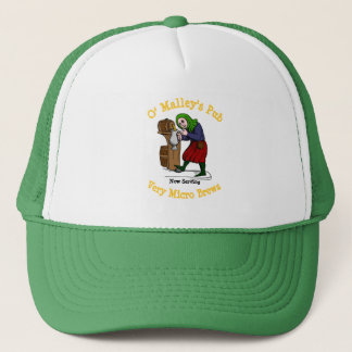 Personalized Home Brewer Pub Logo Trucker Hat