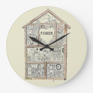 Personalized Home Heart clock