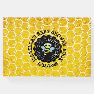 Personalized Honeybee Bumblebee Baby Shower Book